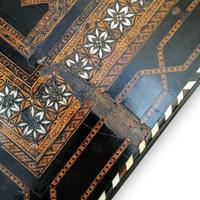 Antique Moorish Style Spanish Side Table with Arabic Writing (8 of 12)