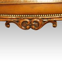 Large Victorian Leather Stool (2 of 7)