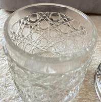 Silver Topped Glass Dressing Table Jar (2 of 5)