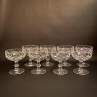 Eight Waterford 'Kerry' Crystal Tall Champagne Coupes