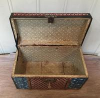 Colonial Dome Top Tin Casket (8 of 9)
