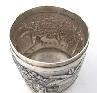 Outstanding quality Bhowanipore antique silver lidded pot Calcutta c 1890 (2 of 11)