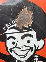 Vintage Original English 1950's Enamel Advertising Sign Calor Gas Stockist (21 of 22)
