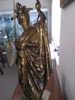 Bronze Warrior Torchere (2 of 12)