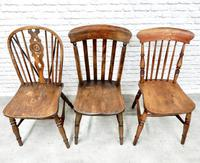 6 Assorted Windsor Kitchen Chairs (2 of 6)