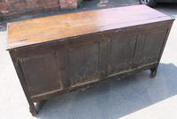1900's Oak 3 Drawer Mule Chest of Drawers (5 of 5)