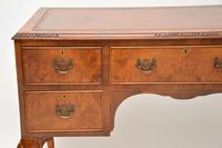 Antique Burr Walnut Leather Top Desk (8 of 10)
