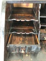 Antique Carved Oak Bureau (6 of 14)