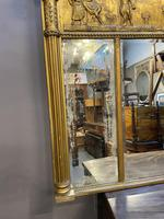 19th Century Large Gilt Overmantle Mirror (8 of 16)