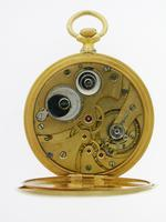 Judex Art Deco Gold Filled Open Face Pocket Watch with Chain Swiss 1925 (5 of 7)