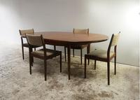 1970's G Plan mid century extending dining table and chairs (2 of 9)
