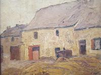 Antique Belgian Oil Painting c.1890 (4 of 4)