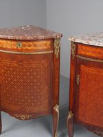 Matched Pair of French Inlaid Corner Cabinets (4 of 18)