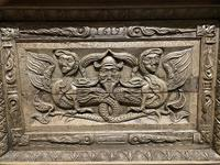Continental Carved Oak Coffer (7 of 15)