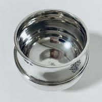 Antique Solid Sterling Silver Sugar Bowl by Walker & Hall (9 of 12)