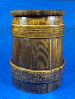 19th Century Beech & Pine Treen Tankard (2 of 11)