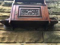 Antique Mahogany Wall Cabinet (4 of 10)
