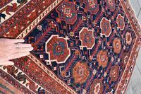 Very Fine Antique Afshar Tribal Rug 120x107cm (3 of 4)