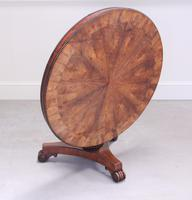 19th Century Rosewood Tilt-top Coffee Table (4 of 9)
