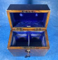 Victorian Brassbound Oak Decanter Box (13 of 20)