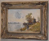 Oil Painting by Alfred Sanderson Edward RBA (3 of 9)