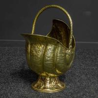 Late Victorian Brass Coal Helmet (9 of 14)