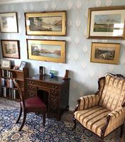 Victorian Mahogany Kneehole Campaign Desk (2 of 7)