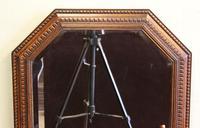 Oak Framed Overmantel Wall Mirror (4 of 5)