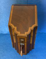 18th Century Mahogany Inlaid Stationary Box (9 of 13)