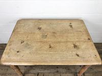 Antique Pine Farmhouse Kitchen Table (10 of 10)