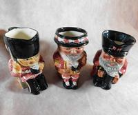 Set of Three Shorter & Sons  Hand Painted Toby Jugs (2 of 5)
