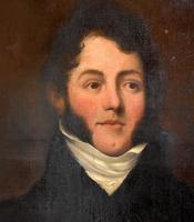 Fine Regency Period Oil Portrait of a Gentleman (5 of 9)