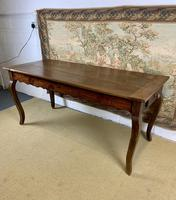 19th Century French Fruitwood Farmhouse Table (5 of 8)