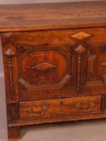 Early 18th Century Dower Chest in Oak (4 of 9)