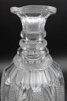 Regency Period Finely Hobnail Cut Shaped Mallet Decanter (3 of 3)