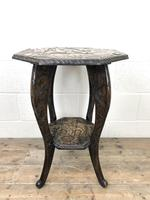 Early 20th Century Carved Side Table (2 of 9)