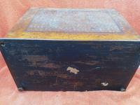Antique Victorian Letter Sorter Writing Box Burl Walnut Veneer C1880s (6 of 12)