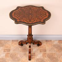 19th Century Marquetry Tripod Table (17 of 17)