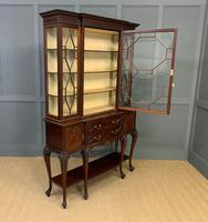 Carved Mahogany Display Cabinet by Warings (17 of 19)