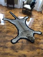 Antique Leopard Skin Rug Taxidermy by Peter Spicer (17 of 18)