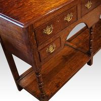 Antique Oak Small Dresser Base (3 of 11)