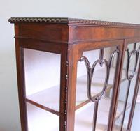 Antique Mahogany Glazed Display Cabinet (6 of 10)