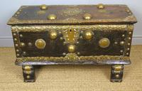 Characterful Early Indian Chest 18th Century (5 of 10)