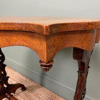 Spectacular Victorian Birds Eye Maple Occasional Table (2 of 8)