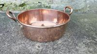 Two-Handled Copper Serving Pan c1890 (5 of 7)