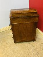 Walnut and Ambonya Davenport Desk (13 of 15)
