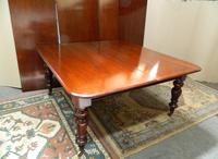 Large Mahogany Extending Dining Table (8 of 8)