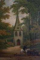 Fine Pair of 18th Century Paintings by J Hill (6 of 9)