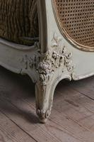 Lovely French King Size Caned Bed (7 of 9)