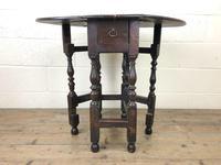 Small 18th Century Gateleg Table (2 of 9)